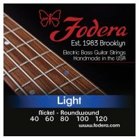 Thumbnail of Fodera N40120XL  Light Nickel, 5 string Extra long scale
