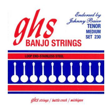 Preview of GHS 230 Tenor Loop End medium Phosphor Bronze chenilled  JOHNNY BAIER SIGNATURE