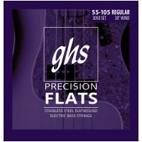 Thumbnail of GHS 3050 R Precision Flatwound Flat Wrap Stainless Steel Regular 055/105