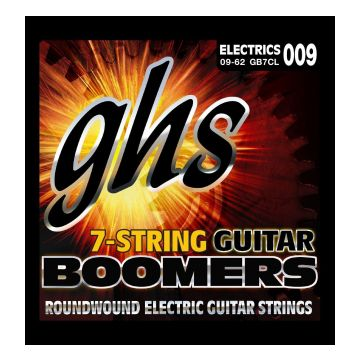 Preview of GHS GB7CL Boomers Roundwound Nickel-Plated Steel