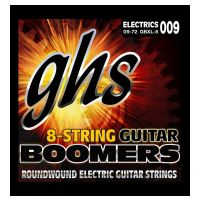 Thumbnail of GHS GB8XL Boomers Roundwound Nickel-Plated Steel