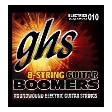Preview of GHS GBTNT-8 Boomers Roundwound Nickel-Plated Steel