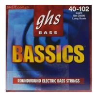 Thumbnail of GHS L6000 Bassics Roundwound Nickel-Plated Steel