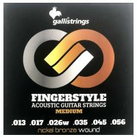 Thumbnail of Galli GFS-1356 Fingerstyle Nickel bronze acoustic