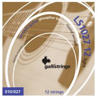 Thumbnail of Galli LS1027 12 string LIGHT tension phosphor bronze wound .010 – .027