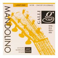 Thumbnail of Galli M158 Mandolino Light Silverplated Loop End