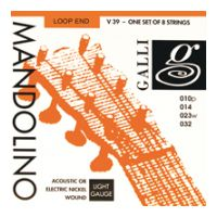 Thumbnail of Galli V039 Mandolino Light Nickel wound Loop End