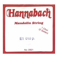 Thumbnail of Hannabach 2821010 Single pair Mandoline strings .010