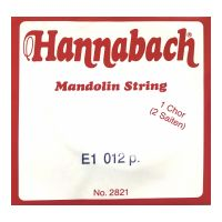 Thumbnail of Hannabach 2821012 Single pair Mandoline strings .012