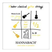 Thumbnail of Hannabach 890 MT 1/2 (plain and wound 3rd string included)