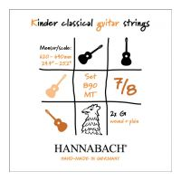 Thumbnail of Hannabach 890 MT 7/8  (plain and wound 3rd string included)