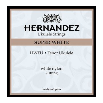 Preview of Hernandez HWTU Super White Tenor Ukulele