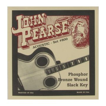 Preview of John Pearse 800 Phosphor Bronze wound Hawaian Slack Key