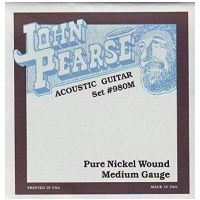 Thumbnail of John Pearse 980M Pure nickel wound Acoustic