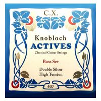 Thumbnail of Knobloch 407 CX Knobloch Actives High tension Double Silver CX BASS set