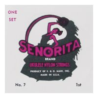 Thumbnail of La Bella 11 Senorita Ukulele Clear Nylon