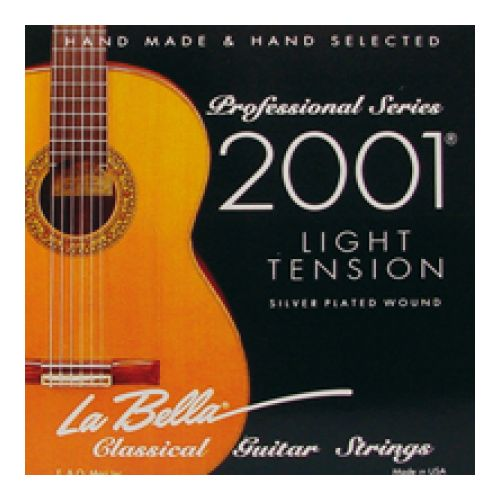 La Bella 2001l Light Guitar Classical 6 String