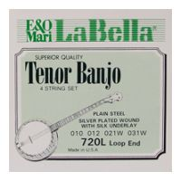 Thumbnail of La Bella 720L Tenor Light Silver Plated Steel Wound
