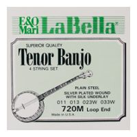 Thumbnail of La Bella 720M-LE Tenor Medium Silver Plated Steel Wound