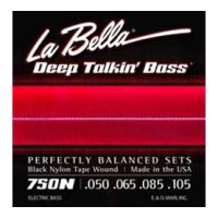Thumbnail of La Bella 750N Black Nylon Tape Wound