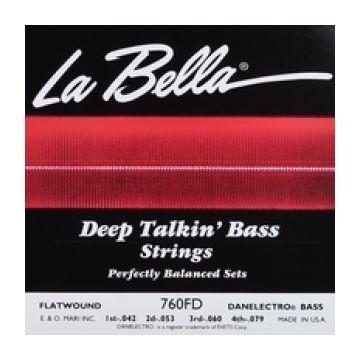 la bella 760fd flatwound stainless steel bass electric danelectro. Black Bedroom Furniture Sets. Home Design Ideas