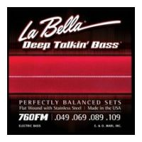 Thumbnail of La Bella 760FM Flatwound Stainless Steel