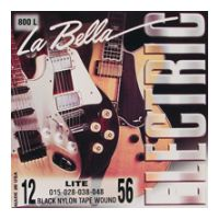 Thumbnail of La Bella 800-L Light Black Nylon Tape Wound
