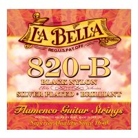 Thumbnail of La Bella 820-B Flamenco Black nylon: silver plated