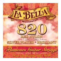 Thumbnail of La Bella 820 Flamenco Red nylon: silver plated