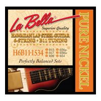 Thumbnail of La Bella H6B11-1534 Hawaiian Lap Steel Guitar, Pure Nickel – 6-String B11 Tuning 15-34