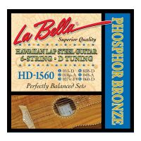 Thumbnail of La Bella HD1560 Hawaiian Lap Steel Guitar, Phosphor Bronze – 6-String D Tuning 15-60