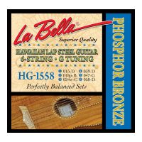 Thumbnail of La Bella HG1558 Hawaiian Lap Steel Guitar, Phosphor Bronze – 6-String G Tuning 15-58