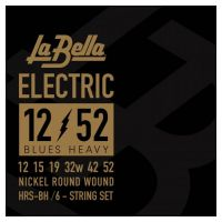 Thumbnail of La Bella HRS-BH Electric Guitar – Blues Heavy 12-52