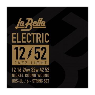 Preview of La Bella HRS-JL Electric Guitar – Jazz Light 12-52