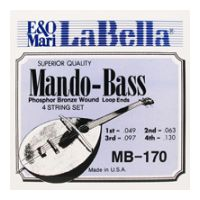 Thumbnail of La Bella MB-170 Mando-Bass Phosphor Bronze - Loop Ends
