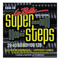 Thumbnail of La Bella SS42-CB XL Super Steps, 6-String – Custom Light 29-128 extra long scale