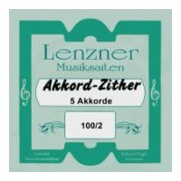 Thumbnail of Lenzner 100/2 Soloklang Chord zither  5 chords, 62 strings, (Mandoline melody strings)