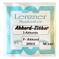 Thumbnail of Lenzner 200/2 Soloklang Chord zither  3 chords, 27 strings 34cm scale