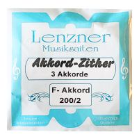Thumbnail of Lenzner 200/2 Soloklang childrens Chord zither  3 chords, 27 strings 28/30cm scale