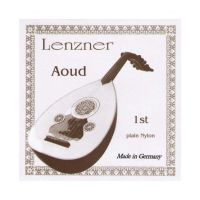 Thumbnail of Lenzner 2810N3  Aoud Silvered copperwound nylon. Nylon 3rd course