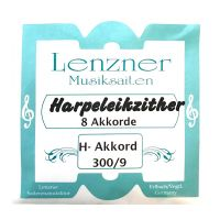 Thumbnail of Lenzner 300/9 Harpeleik-Zither