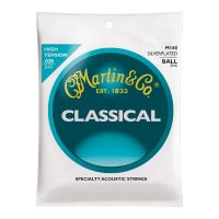 Thumbnail of Martin M160 High tension Crystal Nylon/silverplated copper wound ball-end