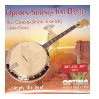 Thumbnail of Optima 2907 Banjo Guitar 6 strings Silver Plated Steel Wound