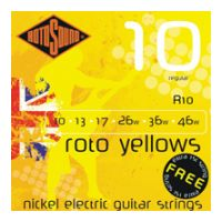 Thumbnail of Rotosound R10 Roto 'Yellows' Regular