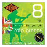 Thumbnail of Rotosound R8 Roto 'Greens' Extra light nickel