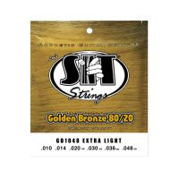 Thumbnail of SIT Strings GB1048 Extra light Golden Bronze 80/20 Acoustic