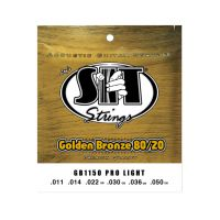 Thumbnail of SIT Strings GB1150 Pro Light Golden Bronze 80/20 Acoustic