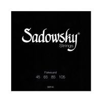 Thumbnail of Sadowsky SBF45 Black  Label Flatwound Bass Strings 045/105