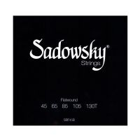 Thumbnail of Sadowsky SBF45B Black Label Flatwound Bass Strings 045/130
