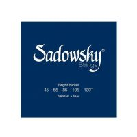 Thumbnail of Sadowsky SBN45B Black Label Nickelwound Bass Strings 045/130T